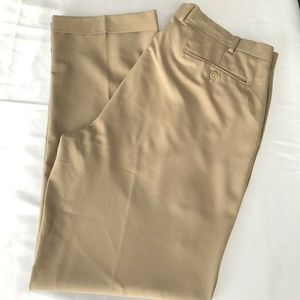 RALPH LAUREN Men's Pleated Khaki Pants 38x32